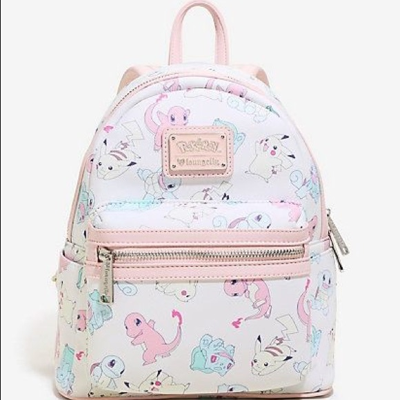 219cd02b3 Loungefly Bags | Iso Pastel Starters Mini Backpack | Poshmark